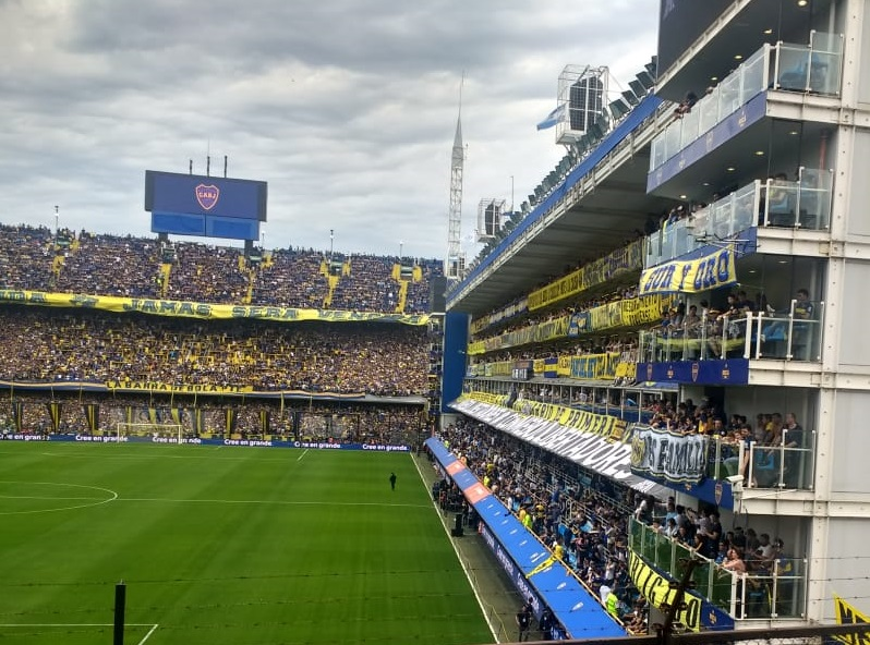Audio Estadio Boca Juniors